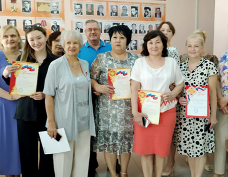 All doctors awarded with the award of the City Council of War, Labor and Law Enforcement Veterans are graduates of Astrakhan State Medical University